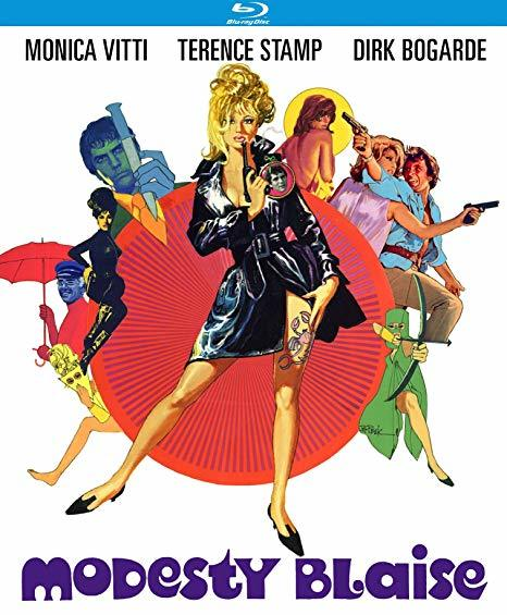 Modesty Blaise [Blu-ray] (1966)