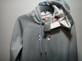 Under Armour Womens Strom 1 Hoodie Ridge Reaper Snow Camo Loose Fit Gray MD - $50.45