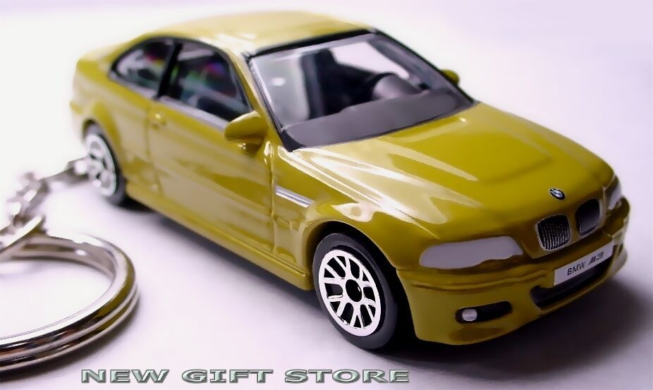 Primary image for RARE HTF KEY CHAIN PHOENIX YELLOW BMW M3 E46 NEW LIMITED EDITION CUSTOM KEY RING
