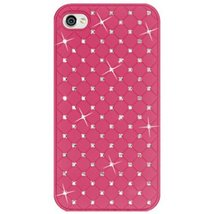 Amzer Diamond Lattice Snap On Shell Case for iPhone 4 4S - Hot Pink - $11.83