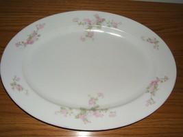 Vintage Z.S.&C.  Bavaria Floral Serving Platter Germany - $9.85