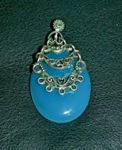 Vintage Chalcedony Pendant - $19.70