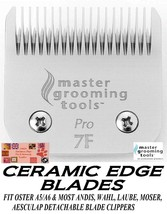 PRO CERAMIC Edge Pet Grooming 7F 7FC Blade Fit Oster A5,MOST Andis,Wahl ... - $37.99