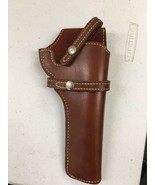 """VINTAGE Brown Leather Bucheimer PL-11 Holster RIGHT HAND 9"""" Top To Bottom - $39.99"""
