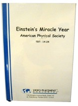 Einstein's Miracle Year American Physical Society Video Placement Worldw... - $22.28