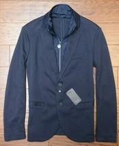 Armani Exchange A X Herren Marineblau Baumwolle Blazer Jacke Mit Aubnehm... - $68.59