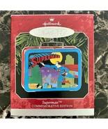 NEW - 1998 Hallmark Keepsake SUPERMAN Commemorative Lunch Box Ornament - $6.93