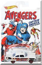 Hot Wheels - '57 Plymouth Fury: '16 Captain America 75th Anniversary Series #6/8 - $4.00