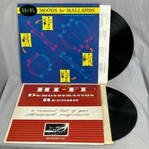 Lot of 2 hi fi moods for mallards and demonstration record first american - $12.95