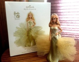 "BARBIE~""50 YEARS OF FABULOUS""~2008~HALLMARK KEEPSAKE ORNAMENT~BRAND NEW ... - $42.70"