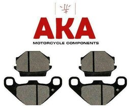 Two sets of Front Brake Pads for Kawasaki GT550 1983 to 2001 FA67 - $15.69