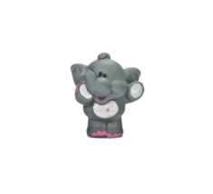 Little Tikes Grey Elephant Zoo Animal Figure Standing w/Pink Nail Polish... - $3.95