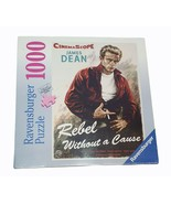 1000 Piece Jigsaw Puzzle James Dean Rebel With Out A Cause Ravensburger New - $16.19