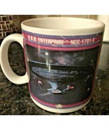 1992 Star Trek Next Generation U.S.S. Enterprise NCC-1701-D Mug Paramount  - $8.99