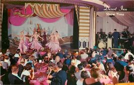 Chrome Postcard NV G305 Las Vegas Wilbur Clarks Desert Inn Painted Deser... - $7.50