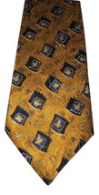 Robert Talbott Best of Class Yellow Leaves Hand Sewn 100% Silk Tie Mens ... - €29,45 EUR