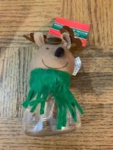 Christmas Reindeer Candy Jar - $8.70
