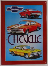Chevelle Chevrolet Car Metal Sign - $19.95