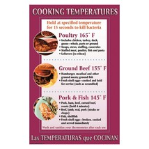 DayMark IT112097 Laminated Workplace Safety and Educational Poster, Cook... - $28.19