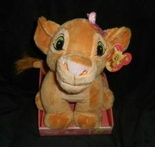 Disney 2012 Just Play Lion King Young Nala Girl Stuffed Animal Plush Toy In Box - $28.05