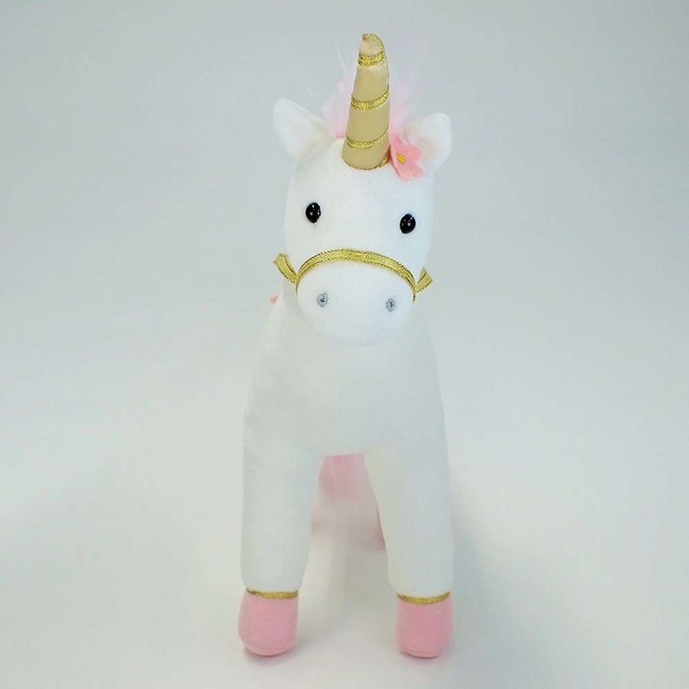 Image 1 of Gund Lilyrose Pink Unicorn Plush, 13