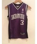 Autographed Signed #3 WALLACE SACRAMENTO KINGS REEBOK NBA JERSEY S Small... - $34.95