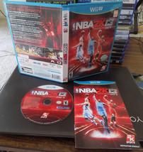 NBA 2K13 complete great shape tested (Nintendo Wii U, 2012) - $29.74