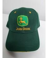 Traditional John Deere Green & Yellow Adjustable Baseball Cap Hat  - $11.99