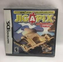 Jigapix: Wonderful World (Nintendo DS, 2010) DS] Brand New Sealed - $7.69