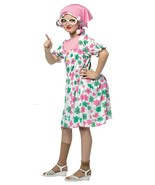 Girl's Size 7-10 Comical Granny Costume by Rasta Imposter/NWT - $50.60 CAD