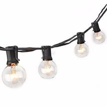Sunsgne 50Ft G40 Globe String Lights for Indoor&Outdoor (50Ft-Black) - €35,59 EUR