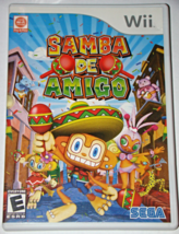 Nintendo Wii - SEGA - SAMBA DE AMIGO (Complete with Manual) - $10.00