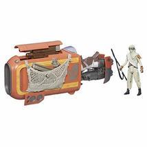 Star Wars The Force Awakens 3.75-inch Vehicle Reys Speeder Bike (Jakku) - $19.75