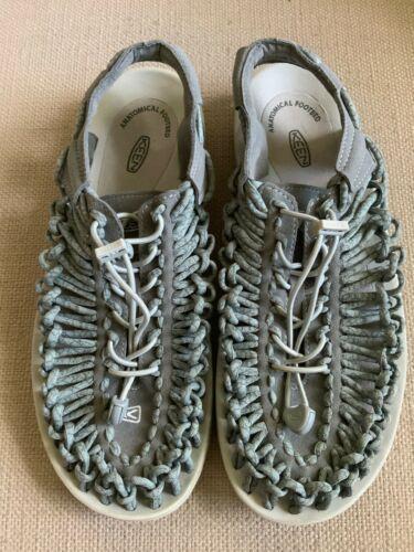 KEEN Uneek Gray Woven Slingback Sport Sandals Womens US 11 EUR 42 image 9