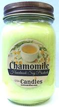 Mels Candles & More Chamomile 16 Ounce Handmade All Natural Soy Candle M... - $19.73