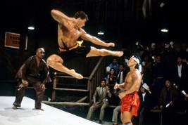 Jean-Claude Van Damme Kickboxer Barechested In Action 18x24 Poster - $23.99