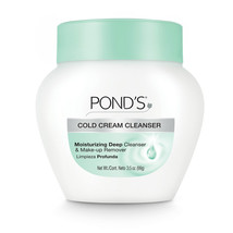 Pond's Cold Cream Cleanser (Deep Cleanser and Makeup Remover),3.5 oz - $5.94