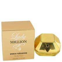 Lady Million by Paco Rabanne Eau De Parfum Spray 1.7 oz for Women - $57.71