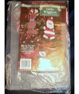 Needlecraft Little Wigglers Ornaments Santa Reindeer Snowman Plastic Can... - $24.99