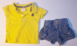 Gymboree Baby Essentials Infant Boys Polo Shirt and Shorts Size 0-3 Mont... - $9.45