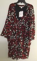 Diane Von Furstenberg Floral Petals Poppy Dress Sz 6 NWT $398 - $107.91
