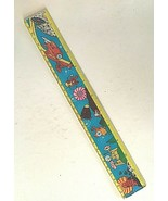 """Vintage 12"""" Ruler 3D Holographic Cartoon Astronauts UFO's and Outer Space T52 - $12.38"""