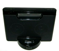 Sony RDP-M5IP 30-Pin iPhone/iPod Portable Speaker Dock AUX Stereo Black - $19.86 CAD