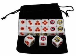 *Teneseshito Pokemon card Damekan corresponding dice with 15 storage case - $16.84