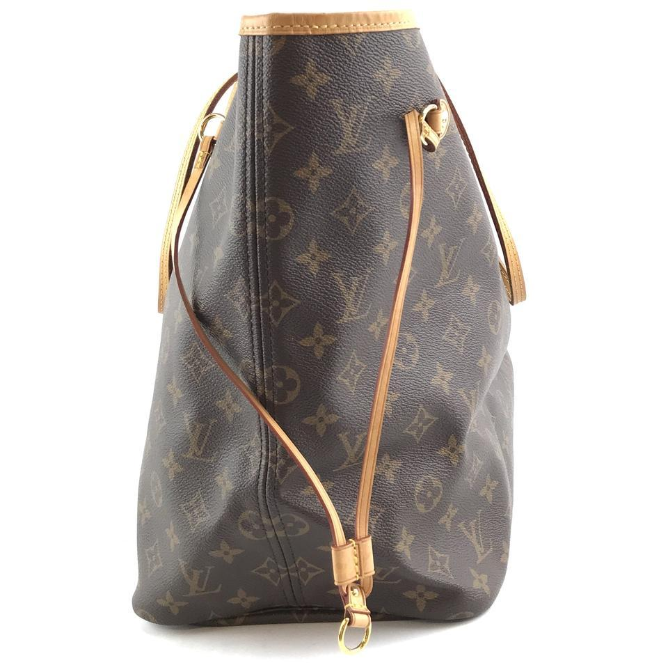 #32322 Louis Vuitton Neverfull Neo Nm Large Gm Tote Work Canvas Shoulder Bag image 8