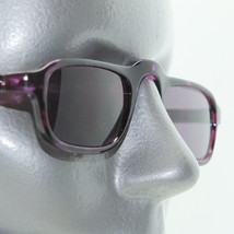 Reading Glasses Low Rise Half Eye +2.00 Sunglasses Tinted Lens Purple Frame - $18.00