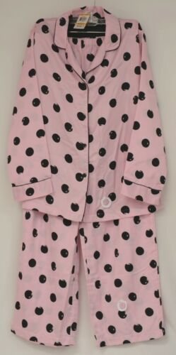 Morgan Taylor Intimates Pink Dot Pajama Set Adult Medium Grade B