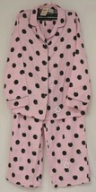 Morgan Taylor Intimates Pink Dot Pajama Set Adult Medium Grade B image 1