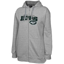 Women's Plus New York Jets Hoodie NFL Classic III Full Zip Hooded Sweatshirt NEW