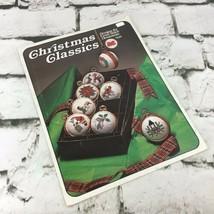 Christmas Classics Designs For Cross Stitch Ornaments Pattern Leaflet VT... - $9.89